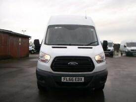 Ford Transit T350 LWB HIGH ROOF VAN TDCI 125PS VAN DIESEL MANUAL WHITE (2016)