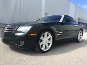 2004 Chrysler Crossfire Limited 6 Speed Manual - 55221 Miles .