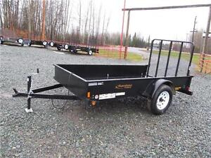 5' X 10' UTILITY TRAILER WITH SOLID SIDES