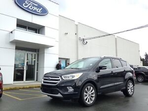 2017 Ford Escape Titanium 4x4 with Navigation, Leather Trimmed S
