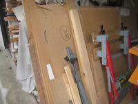 Joblot offcuts Timber