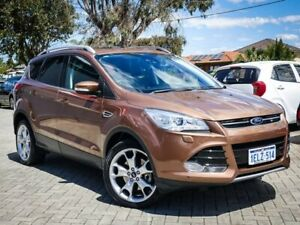 2013 Ford Kuga TF Titanium AWD Bronze 6 Speed Sports Automatic Wagon Morley Bayswater Area Preview