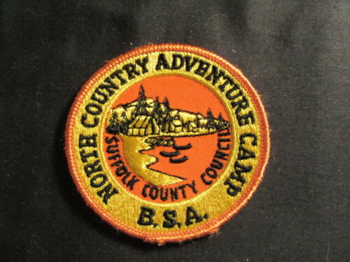 North Country Adventure Camp Suffolk County Council Patch     c87