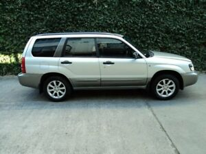 2005 Subaru Forester 79V MY05 XS AWD Silver 4 Speed Automatic Wagon