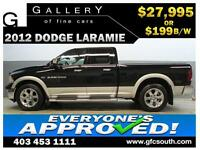 2012 DODGE RAM LARAMIE CREW *EVERYONE APPROVED* $0 DOWN $199/BW!