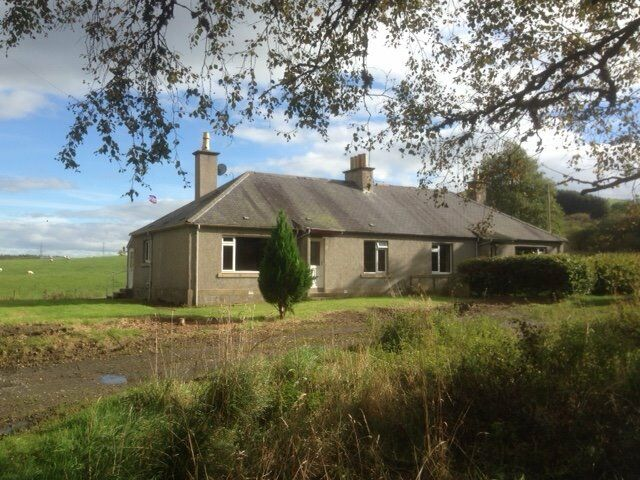 3 Bedroomed Country Cottage to Let 3 Miles from Huntly