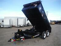 14 FT HD COMMERCIAL 14K DUMP TRAILERS - #1 IN THE INDUSTRY!