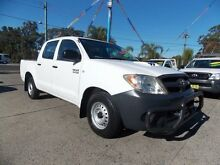 2006 Toyota Hilux KUN16R MY05 SR White 5 Speed Manual Cab Chassis Cabramatta Fairfield Area Preview