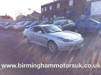 2007 (07 Reg) Hyundai Coupe 2.0i SIII AUTOMATIC 3DR Coupe SILVER + LOW MILES