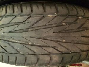205/50R17 General Exclaim UHP tires London Ontario image 2