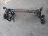 Peugeot 206 Rear Axle with Drums