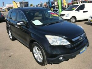 2007 Honda CR-V RE MY2007 Luxury Black Manual Wagon Lansvale Liverpool Area Preview