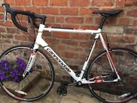 Cannondale CAAD8 6 Tiagra 2014 Road Bike, 61cm frame.