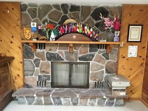 Stone Fireplace for Sale