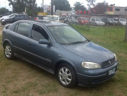 2001 Holden Astra TS CD Blue 4 Speed Automatic Sedan Hastings Mornington Peninsula Preview