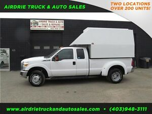2012 Ford Super Duty F-350 DRW XLT Heated Service Canopy, Vmac!!