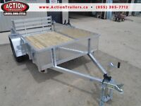 Aluminum trailer - 5 x 8 size - 2016 Quality - GREAT PRICE