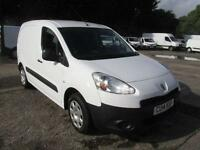 Peugeot Partner 850 1.6 Hdi 92PS Professional Van DIESEL MANUAL WHITE (2014)