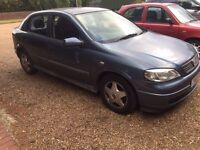 VAUXHALL ASTRA 1.6 VERY GOOD CONDITION DRIVES LOVELY NO FAULTS MOT TILL AUGUST 2017