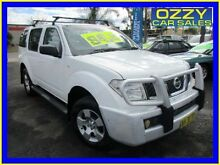 2006 Nissan Pathfinder R51 ST (4x4) White 5 Speed Automatic Wagon Minto Campbelltown Area Preview