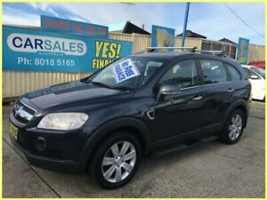 2008 Holden Captiva CG MY08 LX (4x4) Grey 5 Speed Automatic Wagon Kogarah Rockdale Area Preview