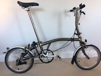 Brompton S3L Raw Laquer - Excellent Condition