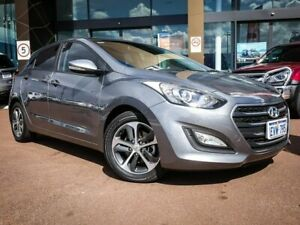 2015 Hyundai i30 GD3 Series II MY16 Active X Silver 6 Speed Sports Automatic Hatchback Maddington Gosnells Area Preview
