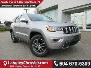 2017 Jeep Grand Cherokee Limited <B>*SUNROOF*LEATHER*5.0 TOUC...