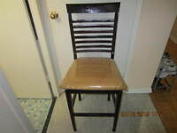 3 Bar height Chairs  perfect restoration project