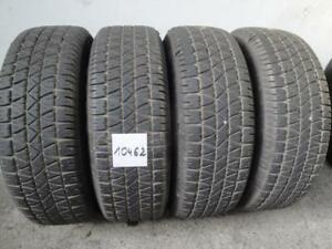 Set of 4 Goodyear 225/70/15 90% tread