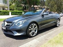 2014 Mercedes-Benz E250 207 MY14 Grey 7 Speed Automatic Cabriolet Canada Bay Canada Bay Area Preview
