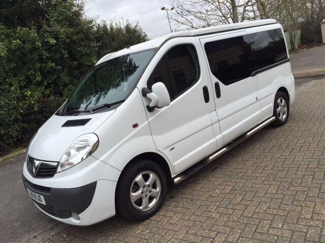 Vauxhall Vivaro Cdti Sportive Lwb Camper Van Pop Top