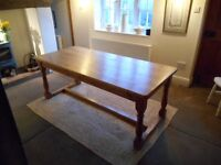 Pine Dining Table 6'x3'