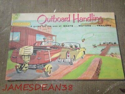 Vintage OUTBOARD HANDLING BOAT MOTOR TRAILER Boating Club America guide book
