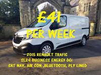 £175.31 PER MONTH RENAULT TRAFIC 1.6dCi Energy L/R Van SL29 120 Business