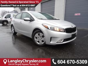 2017 Kia Forte LX *ACCIDENT FREE*ONE OWNER*LOCAL BC CAR*