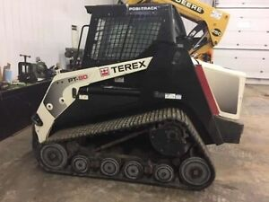 2011 TEREX PT80 SKID STEER TRACK LOADER, BETTER THAN BOBCAT