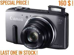 CANON POWERSHOT SX270 HS 12.1 MP 20X - OPTICAL ZOOM 20X