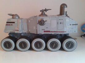 Star wars toys, the clone wars turbo tank