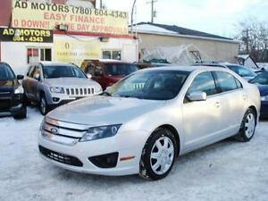 """WHOLESALE PRICE"" 2011 FORD FUSION SE SUNROOF AUTO-100% FINANCE"