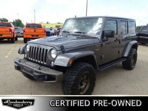 2016 Jeep Wrangler Unlimited 4WD  75TH Accident Free,  Navigatio