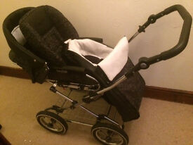 BabyStyle Pram practically brand new. Used Twice