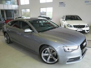 2014 Audi A5 8T MY15 (N5) Sportback Multitronic Grey 8 Speed Constant Variable Hatchback Albion Brisbane North East Preview