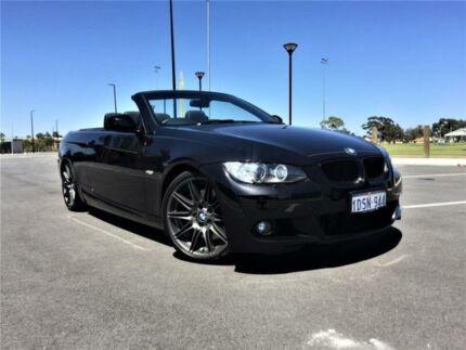 2010 BMW 335i E93 MY09 Black 7 Speed Auto Direct Shift Convertible