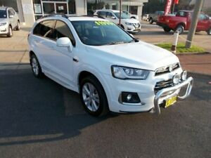 2015 Holden Captiva LT White 6 Speed Automatic Wagon Young Young Area Preview
