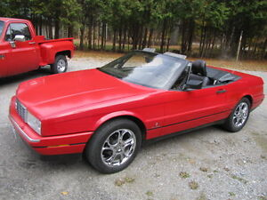 Very clean Cadillac Allante 2 seater Roadster trade or 8500 cash