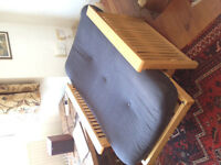 Wooden loung chair/small bed