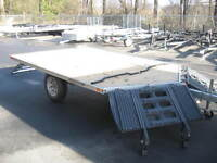 """10' drive on off Snowmobile trailer """"NEW"""""""
