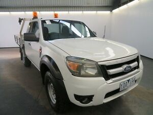 2011 Ford Ranger PK XL HI-Rider (4x2) White 5 Speed Manual Super Cab Chassis Albion Brimbank Area Preview
