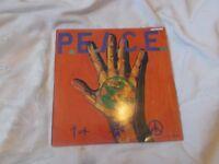 Vinyl LP International P.E.A.C.E Benefit Compilation P.E.A.C.E. War